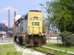 CSX 2610 H795 Coming Out Of The Mixing Center 2:50 P.M.