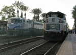 Amtrak and Metrolink Meet