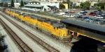 UP 1435 meets Amtrak 734