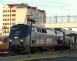 AMTK 66 on Amtrak 713