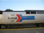Amtrak Phase I Logo on Amtrak 156