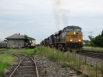 The light power move smokes it up as it heads towards Erie