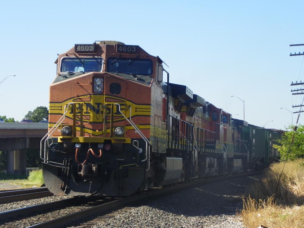 BNSF C44-9W 4603