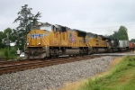 A long NS 204 rolls north to Virginia