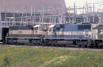 EMDX 9028 on coal train   