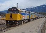 Via 6418, 6452 and 6424 arive at Jasper with train #2