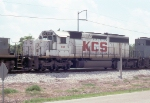 KCS 685 part of the consist of the NB heading for Baton Rouge