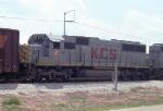 KCS 710 on NB freight