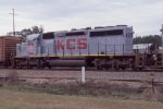 KCS on SB freight