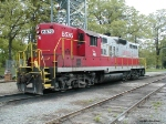 GNRR GP9 6576 at Tate, GA