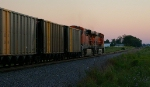 Sunset Coal Train