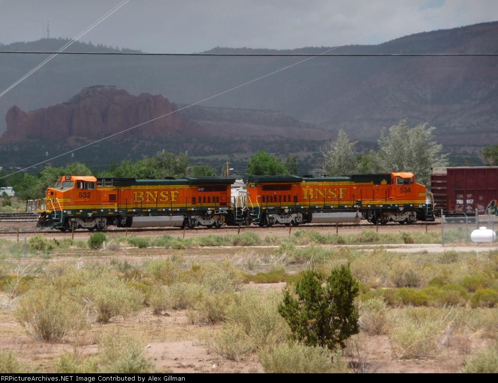 BNSF 532, 535 Local Power