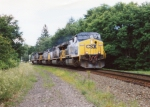 CSX deadheaders roll through Chatham