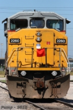 UP 2260 -  EMD SD60M in UP Armourdale Yard