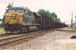 Eastbound coke train rolls over the Big Four