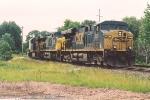 Intermodal turns northeast onto the Big Four