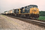 Eastbound intermodal races storm