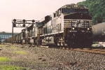 Eastbound empty coal train