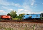 Classic rail equipment in the Owego Harford Yard