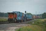 BNSF 5095 shoves!