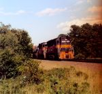 ST 688 heads up this freight