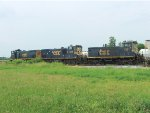 CSX trio of switchers in Evansville, at 41 & Lynch