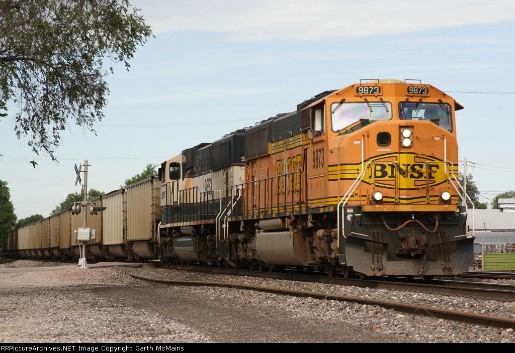 BNSF 9873 East