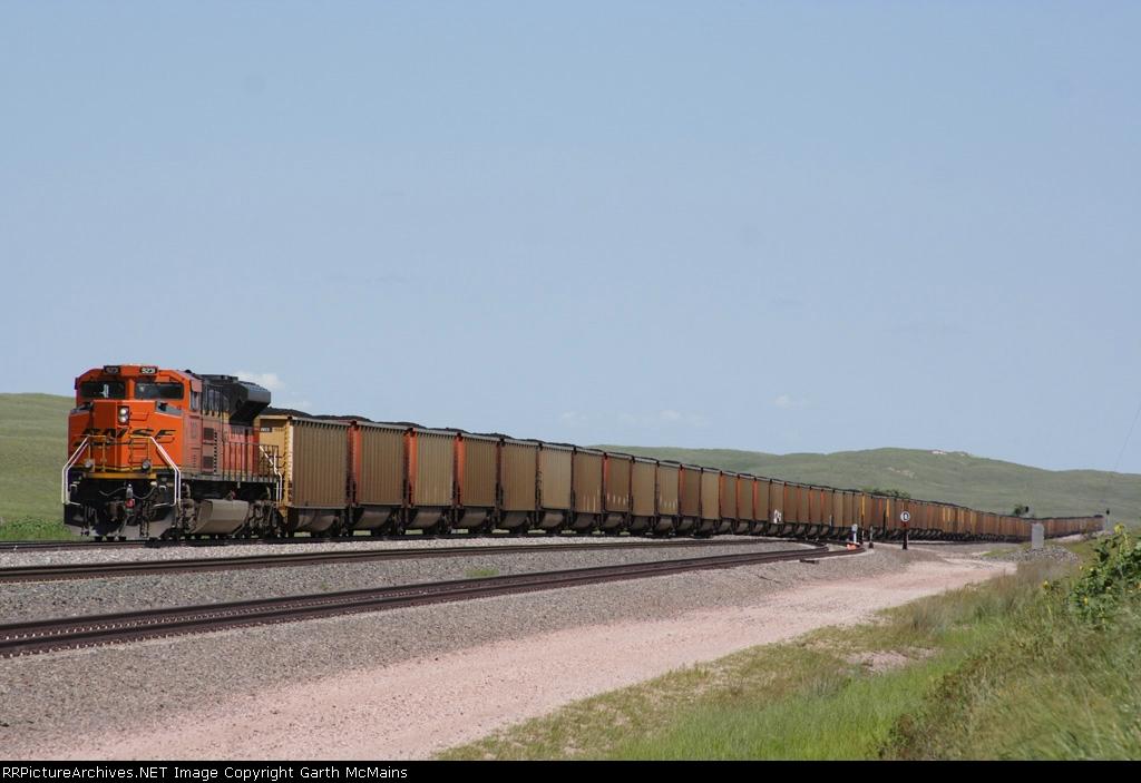 BNSF 6125 East DPU