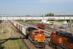 BNSF 9255 West meets BNSF 5910 East