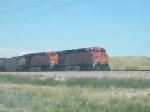 BNSF coal train through the Nebraska Panhandle