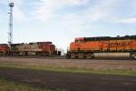 BNSF 5800 North meets BNSF 769 South