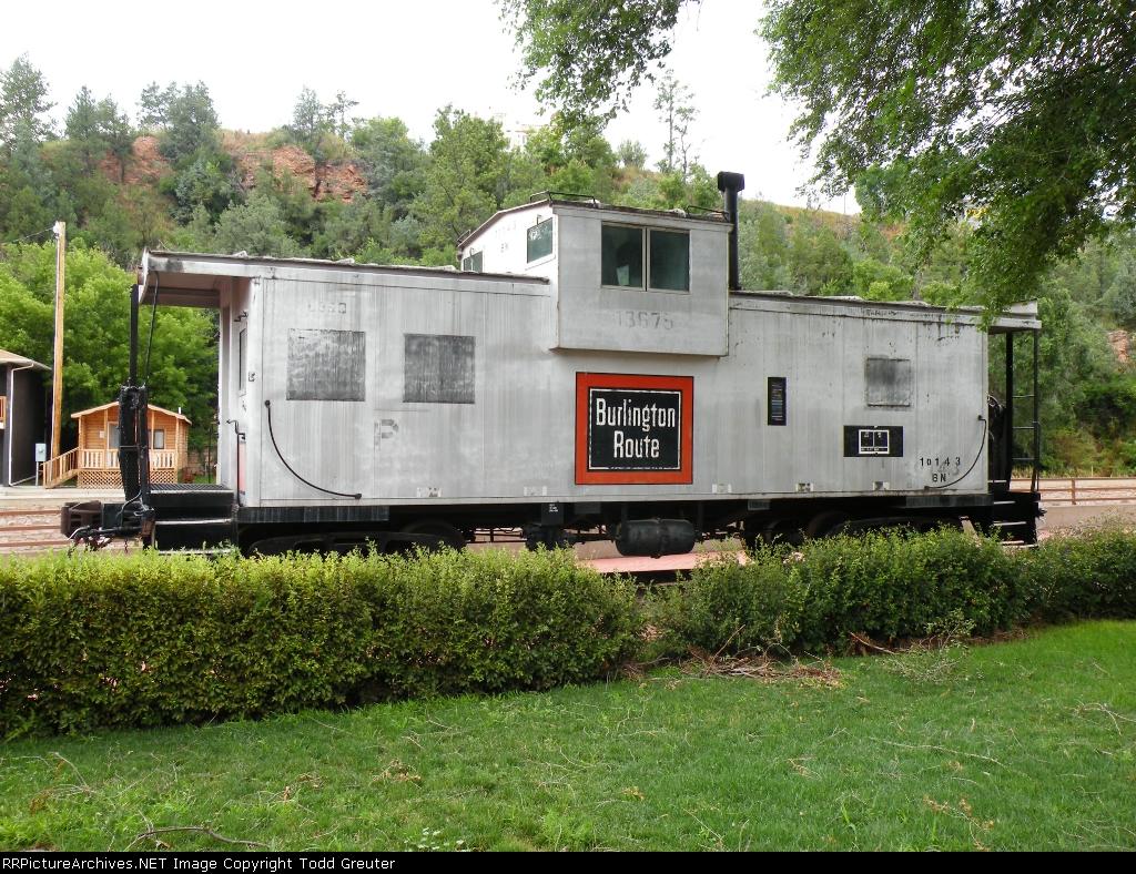 BN 10143, former CB&Q 13675