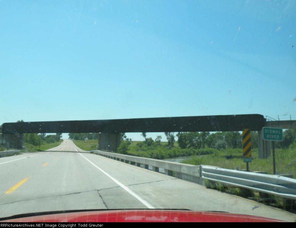 BNSF Bridge over Dismal River