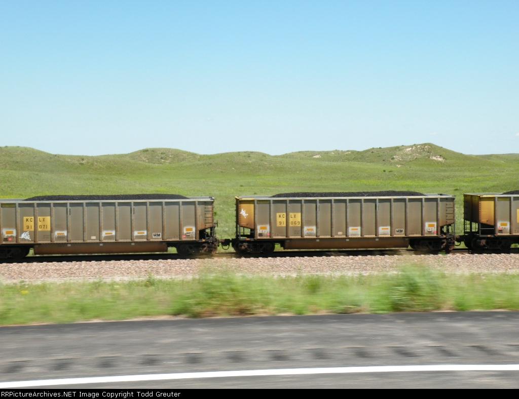 Coal Hauling through the Sandhills