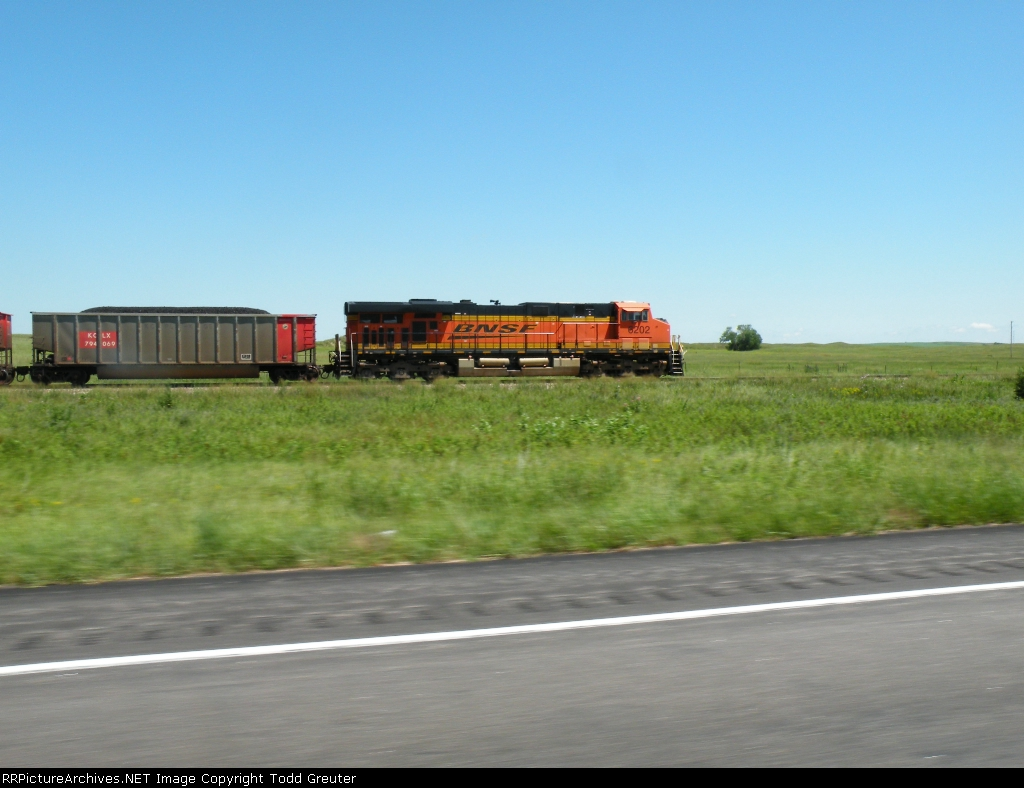 Train Chasing Number 6202