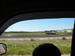 MoW Crane Truck on BNSF