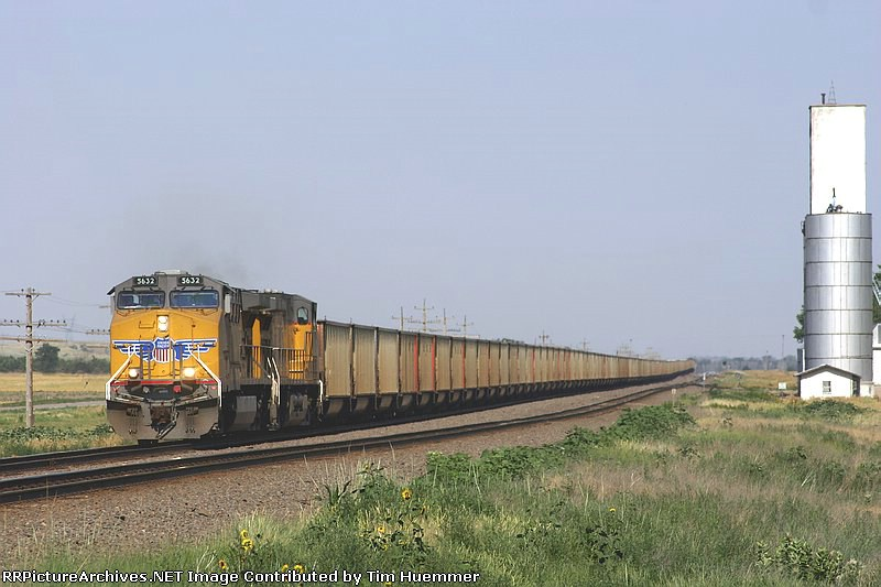 Westbound hoppers