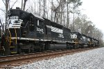 NS 3243 is the fourth unit in an epic SD40-2 high hood consist on A55