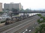 Westbound trailer train