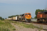 BNSF 6336 West meets BNSF 5910 East