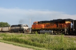 BNSF 6336 West DPU meets BNSF 5910 East DPU