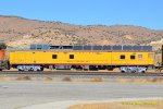 UPP 210 (Intersment Car) testing UP and BNSF PTC systems on Tehachapi. 1//26/2018