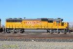 UP 2156 (SD60) at Mojave CA. 10/26/2018