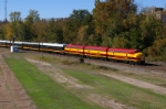 KCS Business Train, Towing the Holiday Express East,