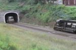 NS 6305 and NS 7556 peak out tunnel