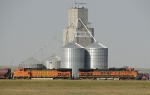 BNSF 5055 and 1082