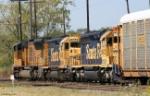 BNSF GP35u 2594 & SD40-2 6902