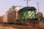 BNSF SD40-2 7831