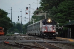 VRE V24 with train 335