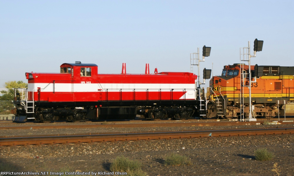 Oregon Pacific RR newest loco